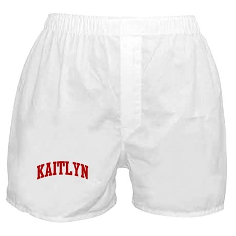 KAITLYN (red) Boxer Shorts