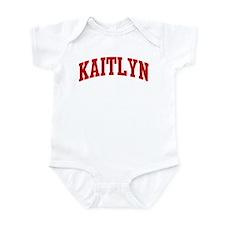 KAITLYN (red) Infant Bodysuit