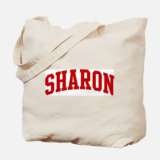 SHARON (red) Tote Bag