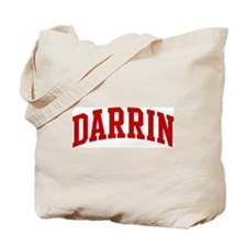 DARRIN (red) Tote Bag