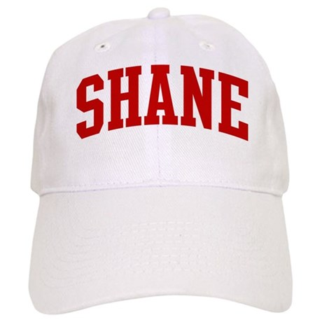 SHANE (red) Cap