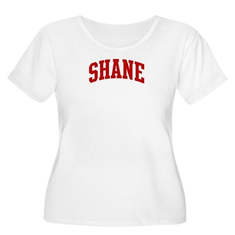 SHANE (red) Women's Plus Size Scoop Neck T-Shirt