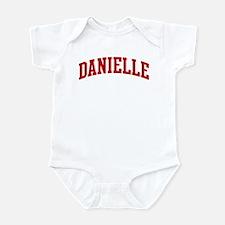DANIELLE (red) Infant Bodysuit