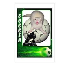Soccer Ferret Postcards (Package of 8)