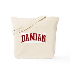 DAMIAN (red) Tote Bag