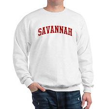 SAVANNAH (red) Sweatshirt