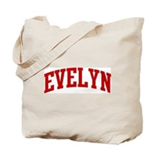 EVELYN (red) Tote Bag