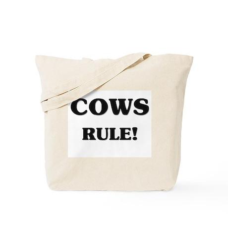 Cows Rule Tote Bag