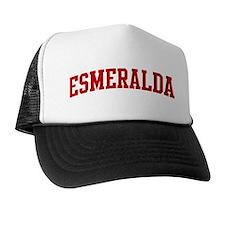 ESMERALDA (red) Trucker Hat