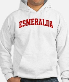 ESMERALDA (red) Jumper Hoody