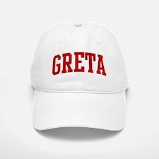 GRETA (red) Baseball Baseball Cap