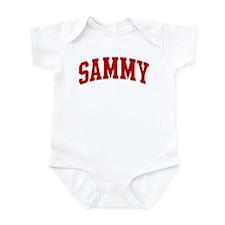 SAMMY (red) Infant Bodysuit