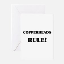 Copperheads Rule Greeting Cards (Pk of 10)