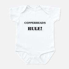 Copperheads Rule Infant Bodysuit