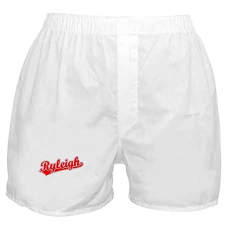 Retro Ryleigh (Red) Boxer Shorts