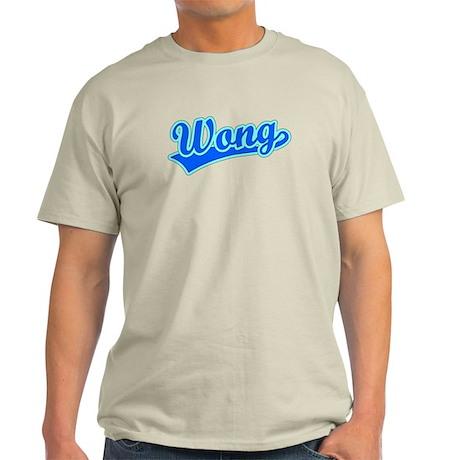 Retro Wong (Blue) Light T-Shirt