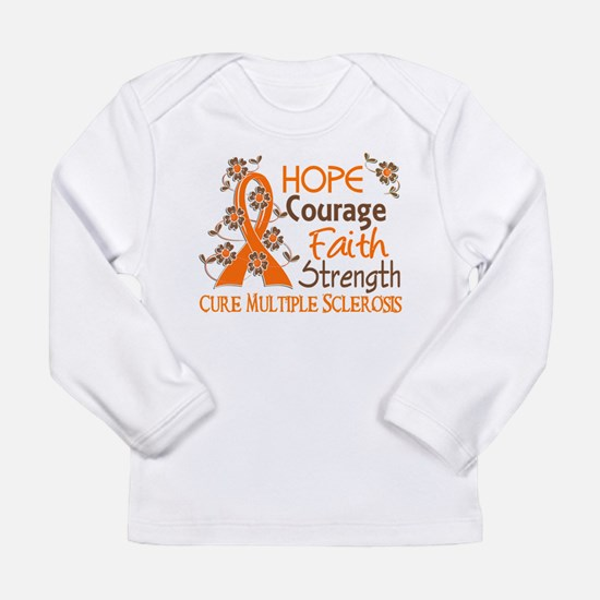 Hope Courage Faith 3 MS Long Sleeve T-Shirt
