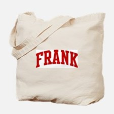 FRANK (red) Tote Bag