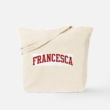 FRANCESCA (red) Tote Bag