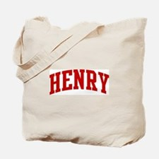 HENRY (red) Tote Bag