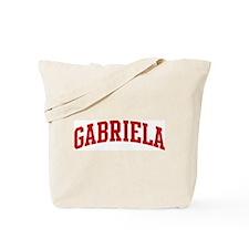 GABRIELA (red) Tote Bag