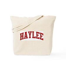 HAYLEE (red) Tote Bag