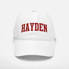 HAYDEN (red) Baseball Baseball Cap