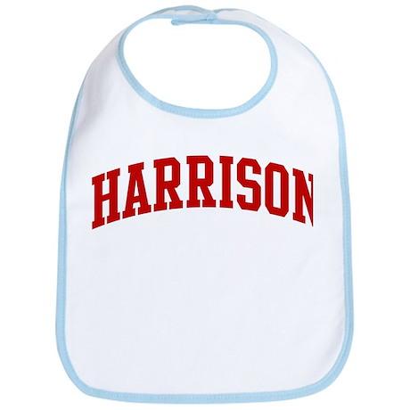 HARRISON (red) Bib