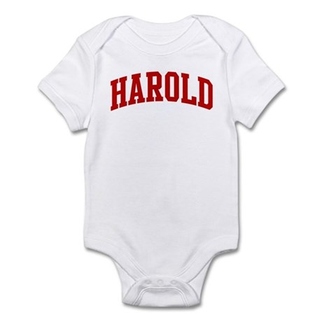 HAROLD (red) Infant Bodysuit