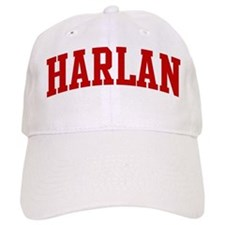 HARLAN (red) Baseball Cap