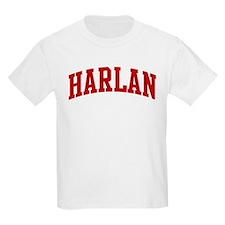HARLAN (red) T-Shirt
