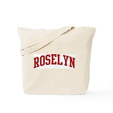 ROSELYN (red) Tote Bag