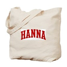 HANNA (red) Tote Bag