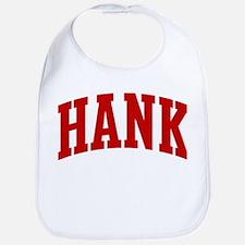 HANK (red) Bib