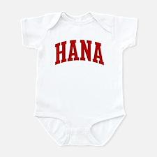 HANA (red) Infant Bodysuit