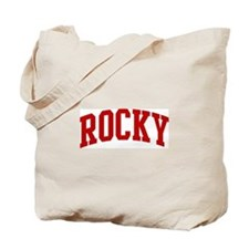 ROCKY (red) Tote Bag
