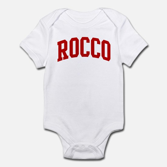 ROCCO (red) Infant Bodysuit
