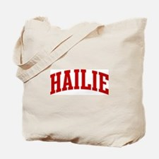 HAILIE (red) Tote Bag
