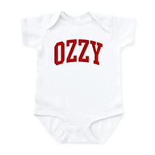 OZZY (red) Infant Bodysuit