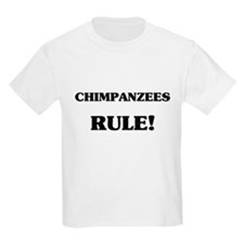 Chimpanzees Rule T-Shirt