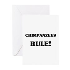 Chimpanzees Rule Greeting Cards (Pk of 10)