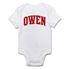 OWEN (red) Infant Bodysuit