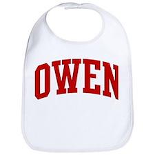 OWEN (red) Bib
