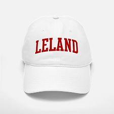 LELAND (red) Baseball Baseball Cap