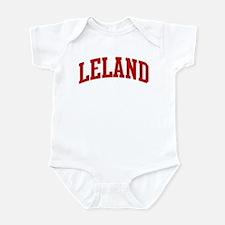 LELAND (red) Infant Bodysuit