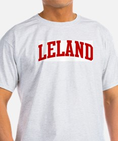 LELAND (red) T-Shirt