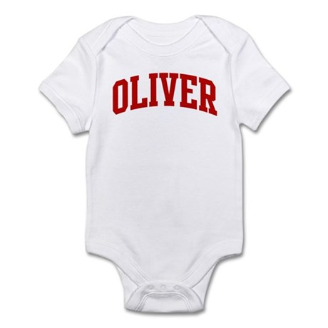 OLIVER (red) Infant Bodysuit