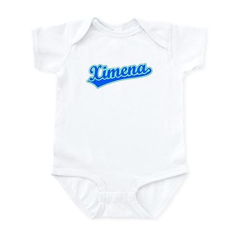 Retro Ximena (Blue) Infant Bodysuit