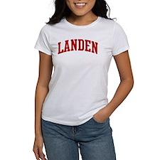 LANDEN (red) Tee