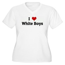 I Love White Boys T-Shirt